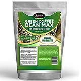 Green Coffee Bean Max - 8000mg pro Tablette - 50% GCA - 90 Tabletten - 45 Tage Anwendung - Vegane Tabletten - Extra Starke Formel - 100% Grüner Kaffee - Zur Unterstützung während der Diät - Turbostoffwechsel - Bekannt aus dem TV