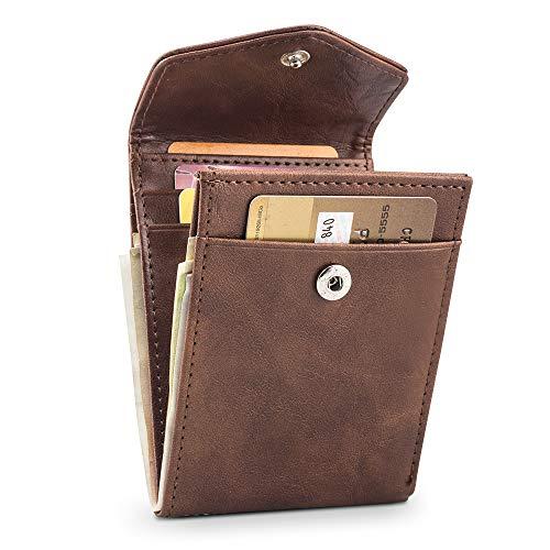 BAGZY Carteras Monederos Bloqueo RFID Tarjeta Crédito