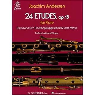 Joachim Andersen  24 Etudes Op.15 For Flute Flt (Louis Moyse Flute Collection)