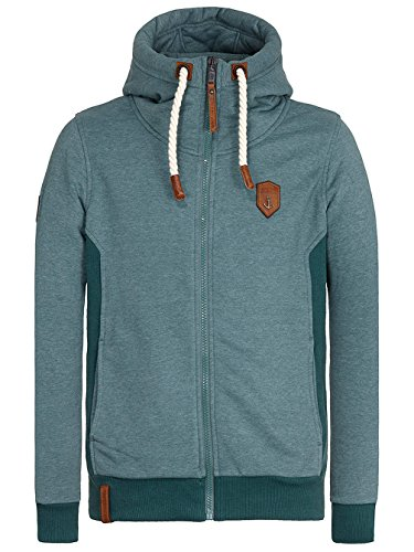 Naketano Male Zipped Jacket Birol VIII Grün