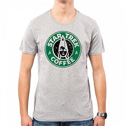 PACDESIGN Camiseta Hombre Star Trek TV Series Movies Spoke Kirk Starbucks Pd1572a 3