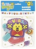 Unique Industries Wubbzy Jointed Birthday Banner by Unique Industries