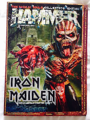 Metal Hammer 274 Sept 2015 3D Cover IRON MAIDEN 'The Book Of Souls'