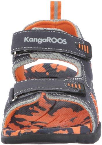 KangaROOS Sinclair 11097/580, Sandales garçon Bleu-TR-B2-119