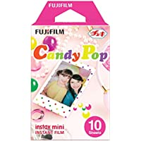 Instax  Candy pop mini film,  10 shot pack - Candy Pop