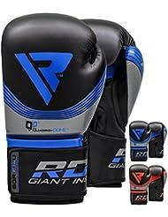 RDX Guantes de Boxeo Cosmo Muay Thai Kick Boxing Saco Entrenamiento Adulto Sparring Maya Hide Cuero Combate Boxing Gloves