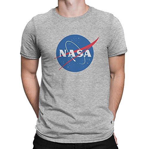 Classic Space Nasa Logo Herren T-shirt XL (Herren-tee Logo Distressed)