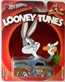 HOT WHEELS 1:64 SCALE LOONEY TUNES DAIRY DELIVERY - REAL RIDERS BUGS BUNNY by Hot Wheels