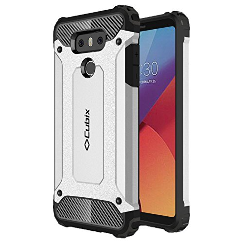 Lg G6 Case Cubix Rugged Armor Case For Lg G6 (silver)