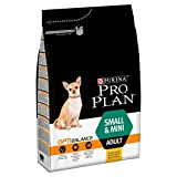Pro Plan Dog Small and Mini Adult, Reich an Huhn, Trockenfutter Beutel