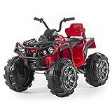 Babycar Quad Outlander 12 Volt ( Rosso ) Nuova Versione ATV Quad per Bambini 12 Volt Batteria con Telecomando 2.4 GHz...