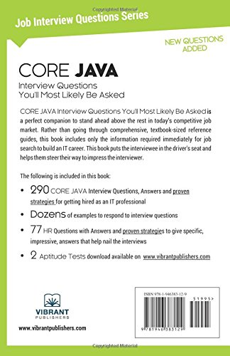 Core Java Interview Questions You'll Most Likely be Asked: Volume 8 (Job Interview Questions)