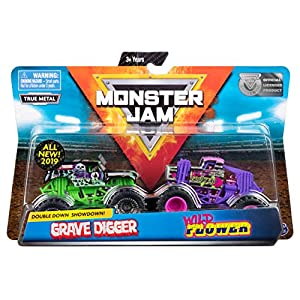 Monster Jam 6053294 MNJ VHC 1t642Pk GrvDgrVSWldFlwr UPCX Gen, Multicolor alfonbrilla para ratón