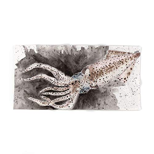 Squid Ink and Tentacles Bath Towel 31 5