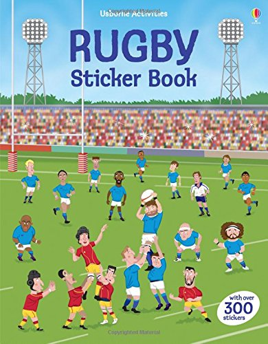 Rugby Sticker Book (Sticker Books) (Rugby Pack)