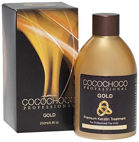Cocochoco Professional Gold Premium Keratin Hair Treatment, 250 ml -