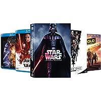 Star Wars - L'intégrale en Blu Ray - Épisodes 1 à 8 + Spin off