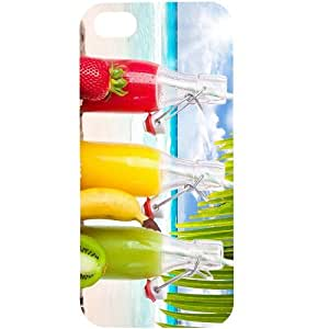 Casotec Smoothies Design Hard Back Case Cover for Apple iPhone 5 / 5S