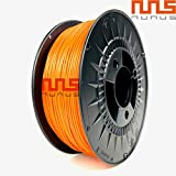 NuNus 3D Printer PLA Filament 1,75mm 1KG Spool (orange) for MakerBot RepRap MakerGear Ultimaker