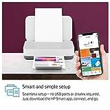 HP Tango - Impresora (imprime, copia y escanea desde tu móvil, fotos gratis con Instant Ink) color blanco