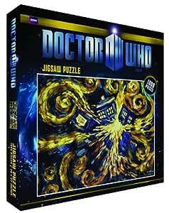 Doctor Who-Tardis Explosant Puzzle 1000 pièces