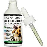 [Gesponsert]Vollkommen Natürliche Behandlung und Vorsorge bei Tierflöhen | Flea Fighter | Die beste Lösung für Hunde und Katzen | 1-Jahres Menge | Wirksame und sichere Formel | Beseitigung, Schutz vor und Kontrolle bei Flöhen, Zecken und Läusen