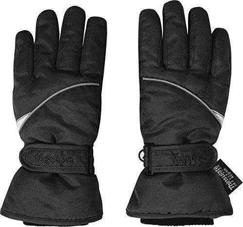 Playshoes Unisex Handschuhe Skihandschuhe Thinsulate, Gr. 3, Schwarz (schwarz 20)