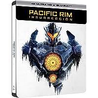 Pacific Rim: Insurrección Edición Especial Limitada Metal y Comic (4K Ultra HD + Blu-ray) - Exclusiva Amazon