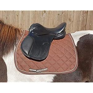 Esposita Ponysattel Lilly für Minishetty bis Pony mit wechselbarem Kopfeisen