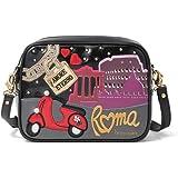 Braccialini Borsa Donna MOD.Cartoline Metal B14560 YY Multicolor