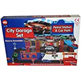 Kids Child Toy City Garage Set Petrol Station And Car Park Brand New In Retail Box
