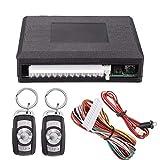 ELENXS Universal Car Fernbedienung Zentralverriegelung Kit Ersatztürschloss Keyless Entry System