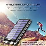 Solar Ladegerät,Akku mit 3 USB Ausgangen - 4