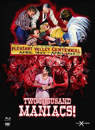 Two Thousand Maniacs! - Mediabook  (+ DVD) [Blu-ray] [Limited Edition]