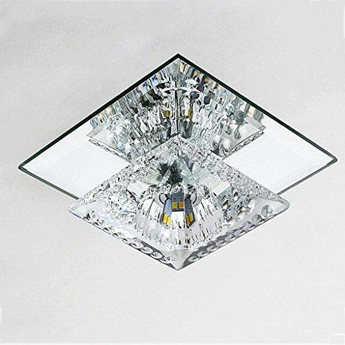 DELICATO C acciaio inossidabile di cristallo di terzo livello dimmerabili
