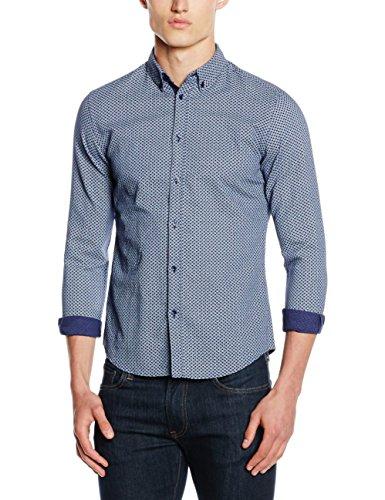 ESPRIT Collection Herren Businesshemd Blau (NAVY 400)