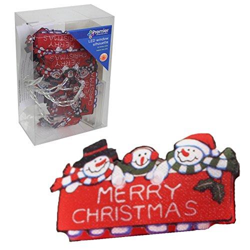 on 10LED Schneemann Merry Christmas Lampen ()