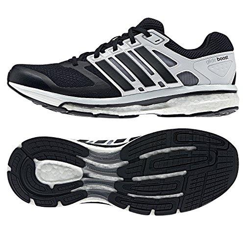 adidas Performance  supernova glide boost 6 m Textile (mesh / syn), Chaussures de course pour homme schwarz / weiß BLACK1/BLACK1/RUNWHI