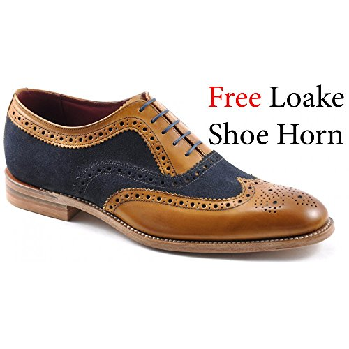 loake-hommes-tan-thompson-brogue-chaussures-uk-7