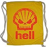 Urban Backwoods Shell Hell Turnbeutel Tankstelle Hölle Fun Devil Teufel