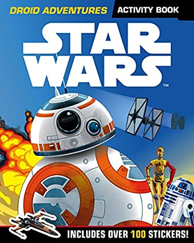 Star Wars: Droid Adventures Activity Book: Includes Over 100 Stickers (Star Wars Activity Book)