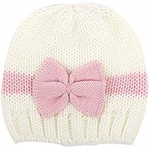 RETUROM Sombreros de bebé, Forme a bebé recién nacido el casquillo hecho punto suave del