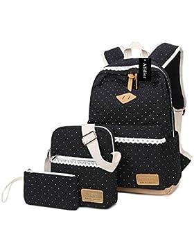 Alidier Neue Marke und Qualität Mode Maedchen Rucksack Schulranzen