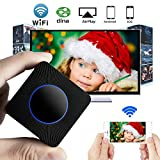 Wireless HDMI Dongle, GOXMGO Mini Wireless Display WLAN Receiver Support 1080P Full HD & AV Dual Output Display Airplay Receiver for iOS iPhone iPad/Android Smartphones/ Windows/ Macbook (Q1)
