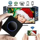 Adaptateur d'écran HDTV GOXMGO - Wi-Fi sans fil - Clé HDMI - 1080p - Prise en charge de DLNA et AirPlay - Écran miroir - Pour smartphones iOS, Android, ordinateurs portables Windows, Mac OS Q2