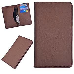 DCR Pu Leather case cover for Lenovo S890 (brown)