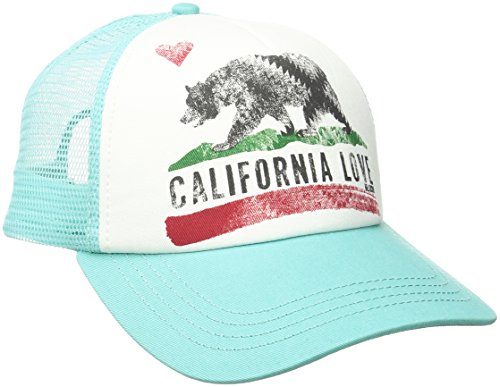 BILLABONG Women's Pitstop Trucker Hat MO-Mint One Size (Billabong Damen Hut)