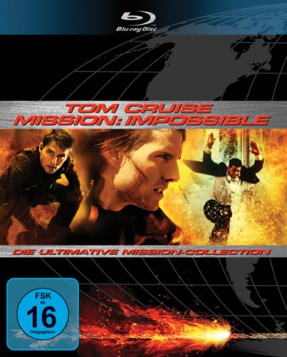 Mission: Impossible - Die Ultimative Mission-Collection - Impossible Die Blu-ray Mission