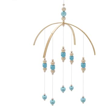 8 Wooden Mobile Frame Rods and Beads Mobile /& Windchime Crafts