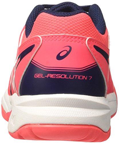 Asics Gel-Resolution 7 Gs, Scarpe da Ginnastica Unisex – Bambini Rosa (Diva Pink/Indigo Blue/White)